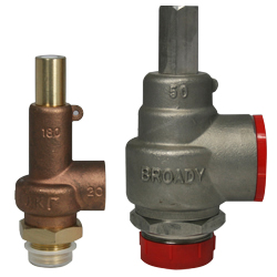 Broady 180 & 180S Relief Valve